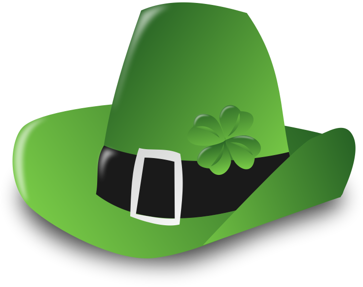 Green Hat Png And Clipart St Patricks Day Hat St Patrick Halloween Clips
