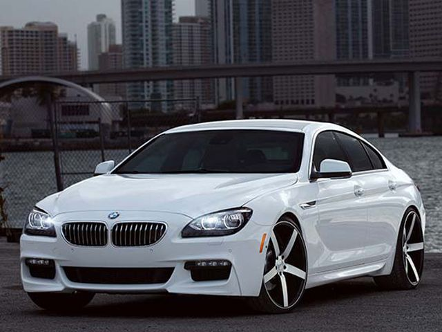 Bmw 6 Series Gran Coupe On Vossen Wheels With Images Bmw 6
