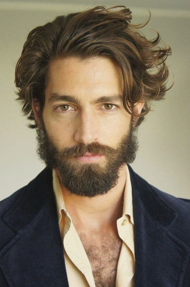 Cool long haircuts for men  models long hairstyles for men  gwallt  hairs  pinterest