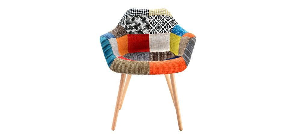 Chaise Anssen Patchwork Organizations - Fauteuil design patchwork