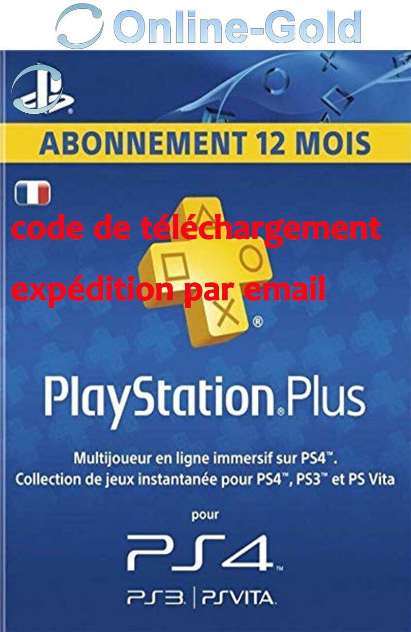 Details Sur Playstation Plus Abonnement 12 Mois 365 Jours 1
