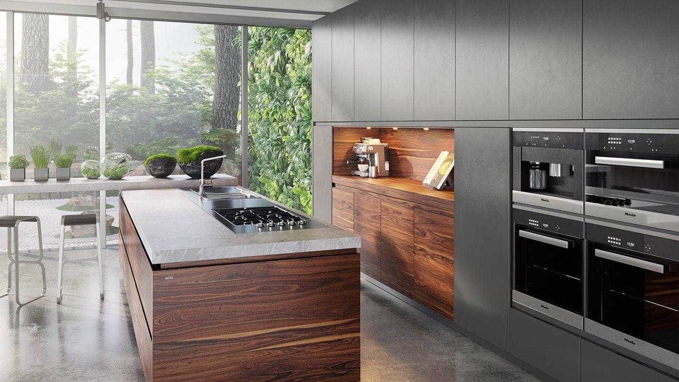 Karlos Arguiñano en su nueva cocina, la tercera que Cocinas.com ha ...