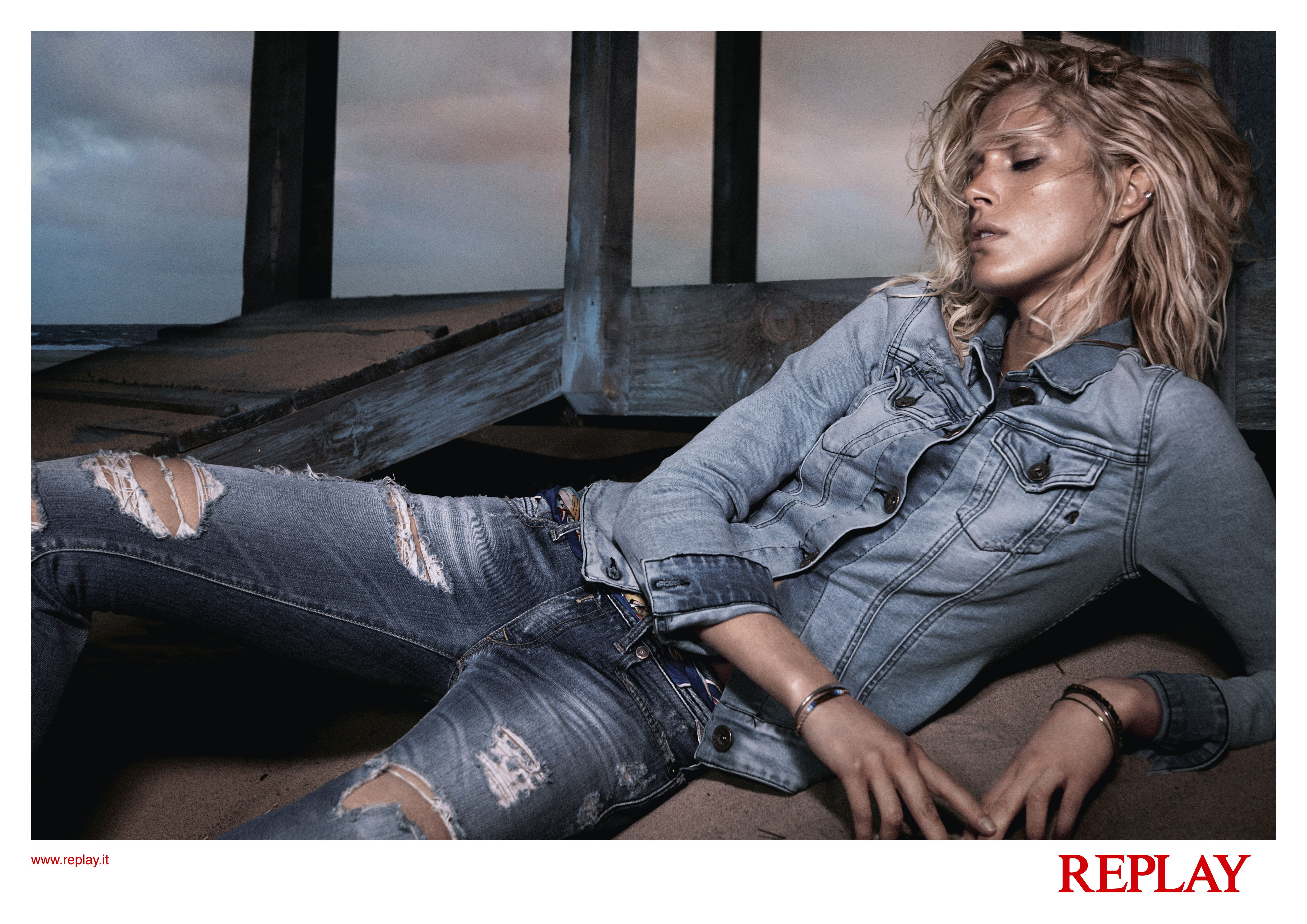 #REPLAY #SS14 advertising campaign by  David Sims