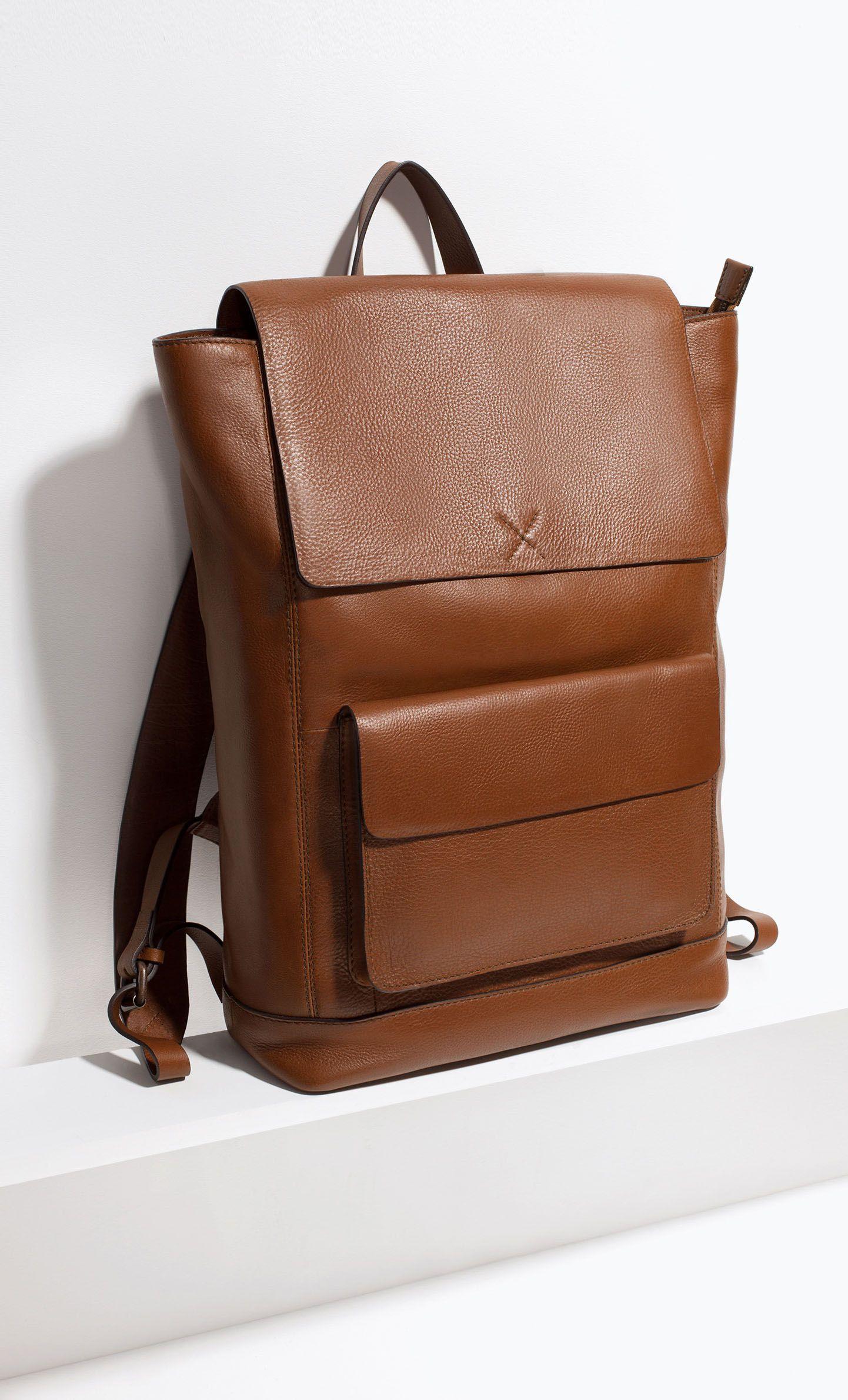 Leather Rucksack. Leather Rucksack Men s Backpack c58e9c182caa5