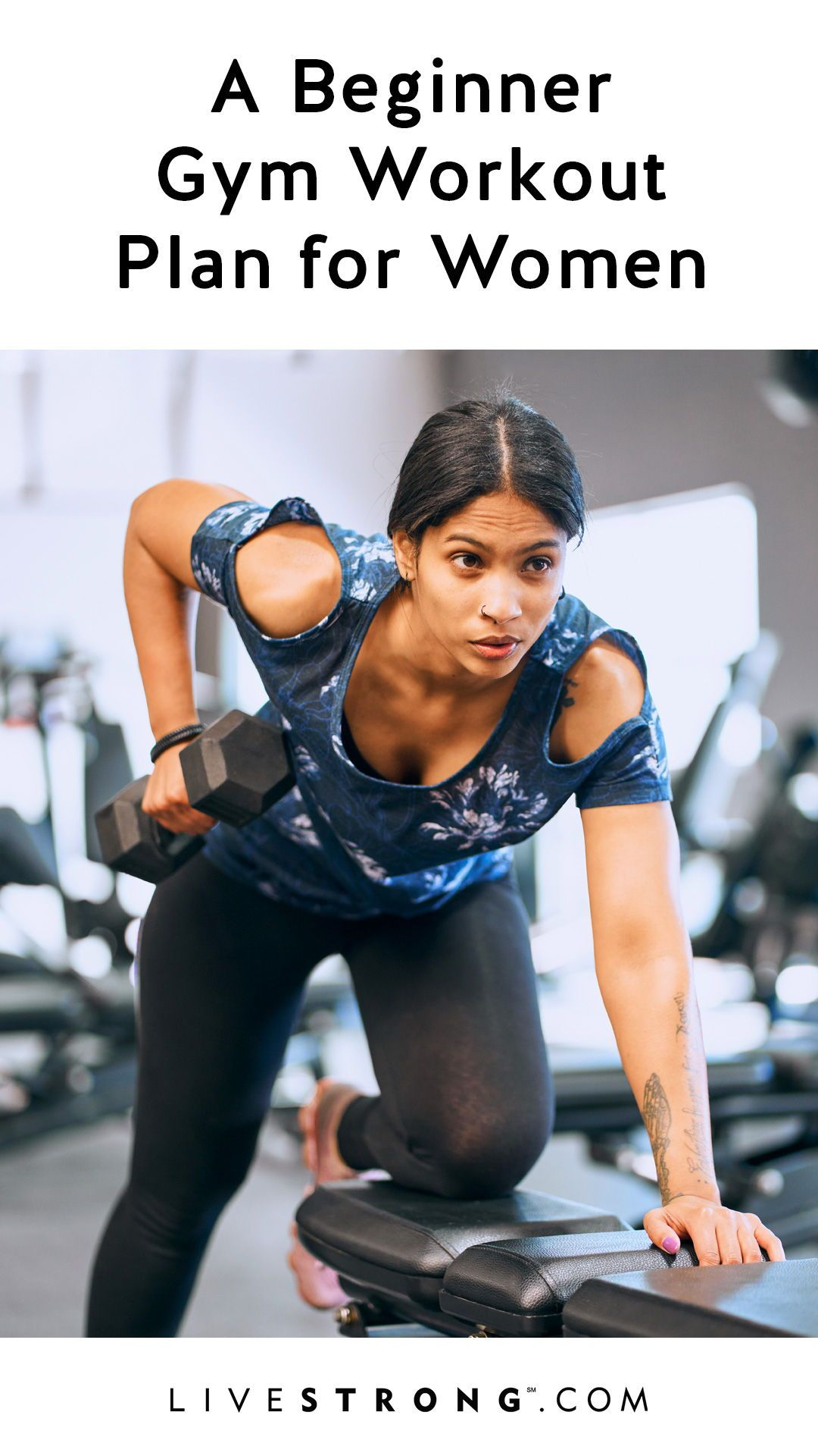 No need to worry if you're a newbie to the gym. We have the ultimate beginner gym workout for women. Here's how to get started with cardio and strength training.