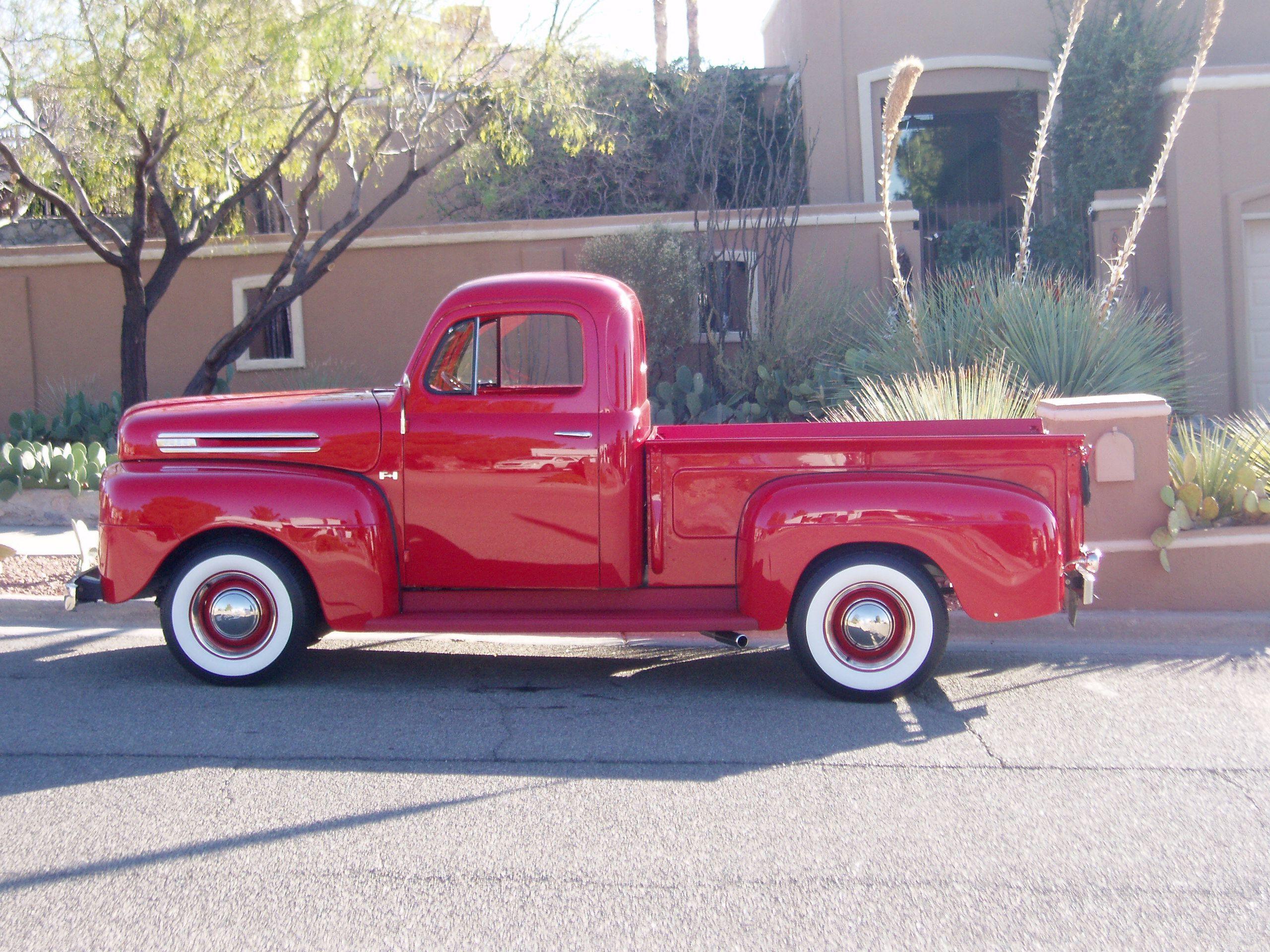 1950 Ford Truck | Resto-Rodding my 1950 Ford F-1 | FOMOCO | Pinterest