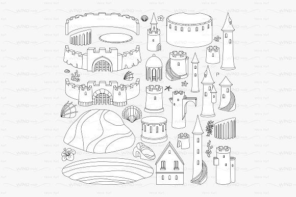 Gallery ? vector outline sandcastle creator by WINDmade  graphics graphicdesign graphicobjects is free HD wallpaper.