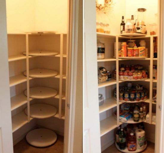 Lazy Susan Pantry Shelves Tower Storage Diy Video Tutorial