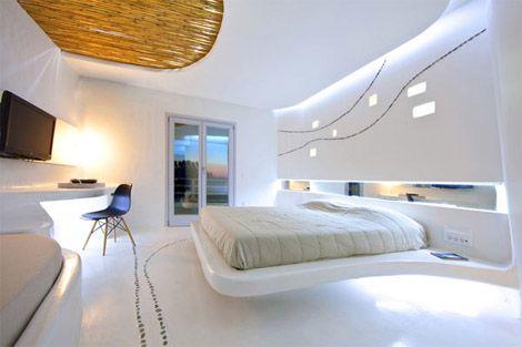 White hotel suites