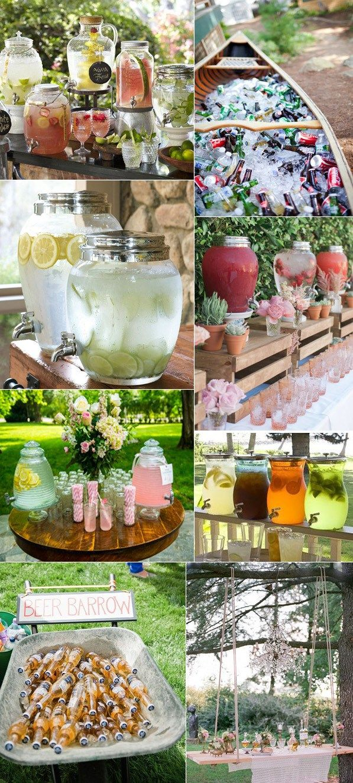 5 Admirable Wedding Food and Drink Bar Ideas
