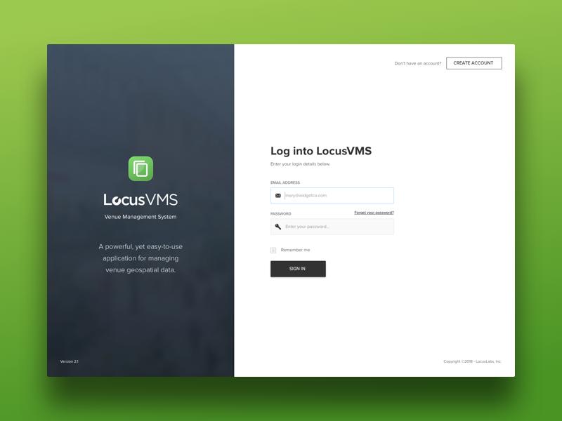 Vms Login Screen Login Page Design Login Design Web Layout Design