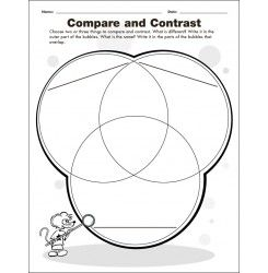 Compare and Contrast: Knowledge and Research Graphic