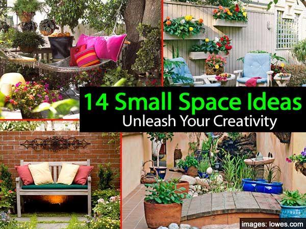 14 Small Space Garden Ideas To Unleash Your Creativity | Small ...