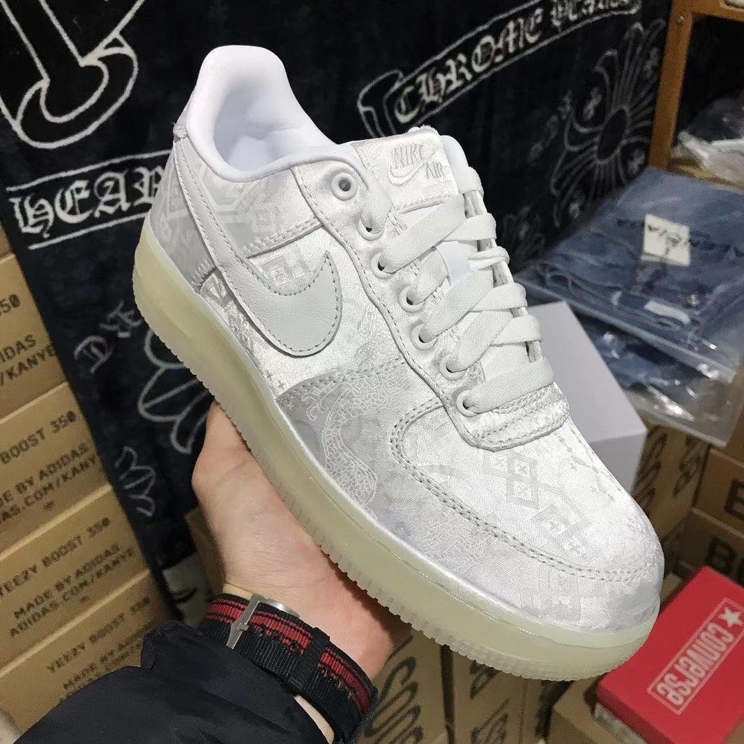 Nike Air Force 1 Low CLOT 1WORLD 2018 Silk White AO9286 100
