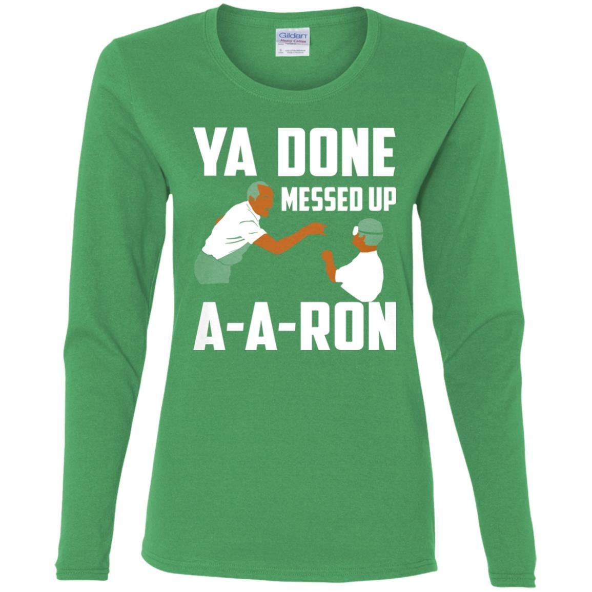 You Done Messed Up Aaron T Shirt Products Pinterest Promotion