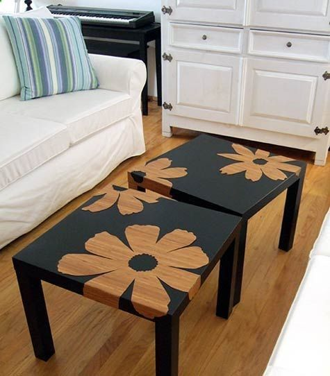 14 Modern Affordable Ikea Kitchen Makeovers: Love This Idea, Turn Your Cheap 8.00 Ikea Tables Into This