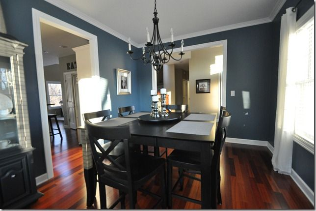 Paint Color, Smokey Blue (Sherwin Williams) Is My Bathroom