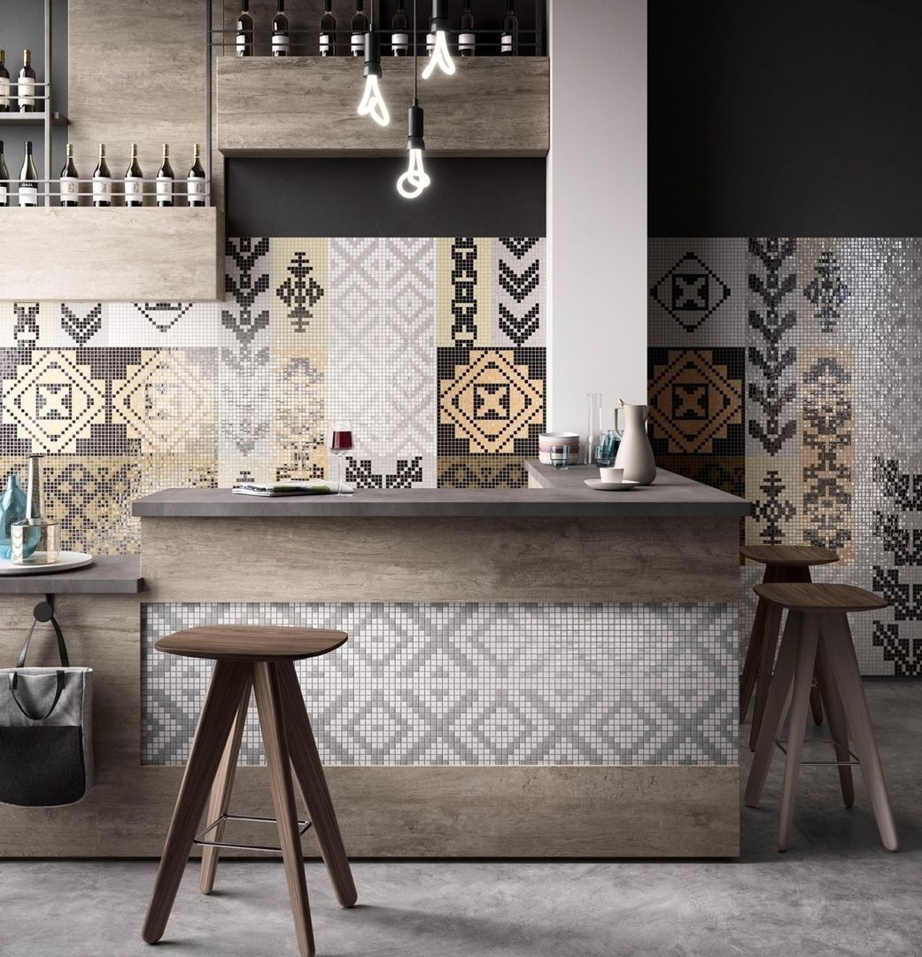 millennia old mosaics have long provided a colourful form of art and decoration tesseraesmall blocks of stone tile glass ceramics or other suitable m