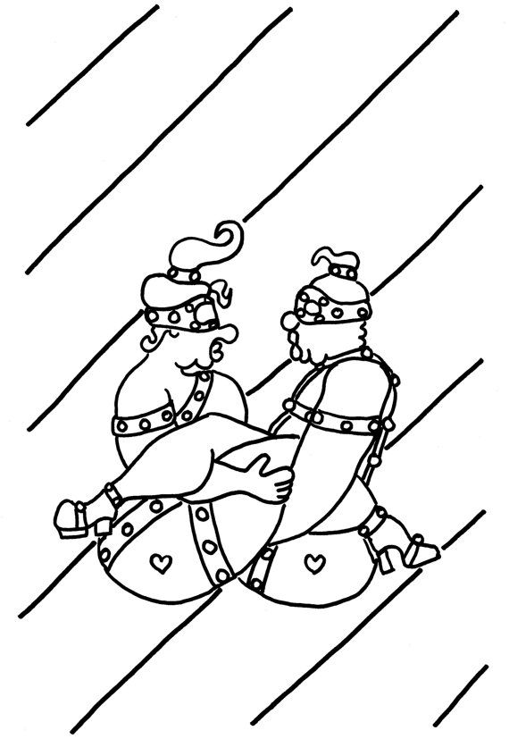 The Rowing Boat Funny Sexy Kama Sutra Coloring Pages For Adults By Chubbyart