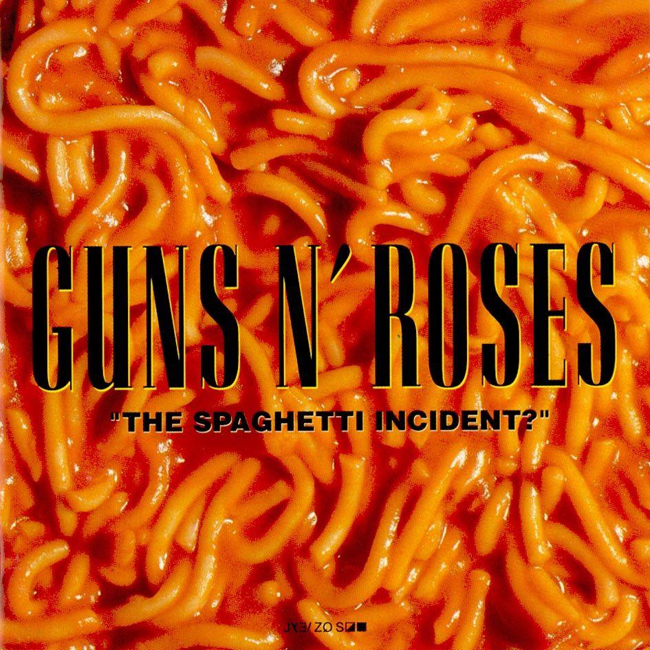 the spaghetti incident cover guns n roses art