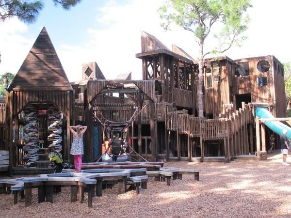 The Whimsical Playground In Florida That S Straight Out Of A Storybook Places In Florida Wooden Playground Florida