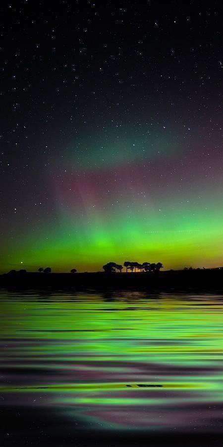 Northern Lights over Ireland