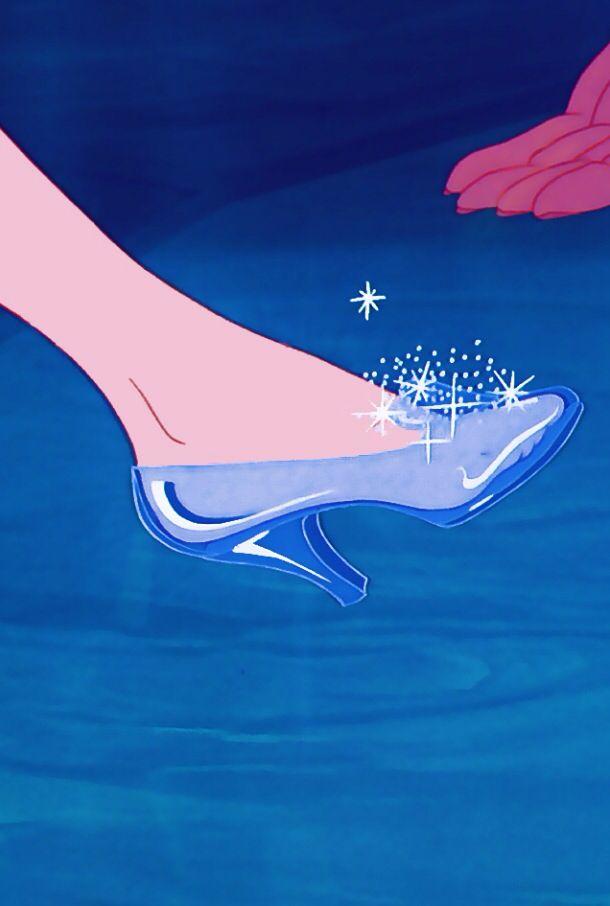 Cartoon Glass Slipper : cartoon, glass, slipper, Jansen, Cinderella., Cinderella, Disney,, Disney, Wallpaper