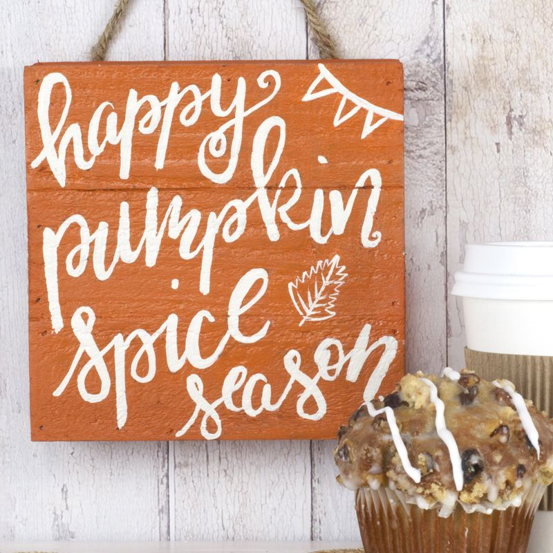 Diy Home Decor Signs Amusing Diy Painted Signs  Diy Home Decor  Pumpkin Spice Latte Sign Review