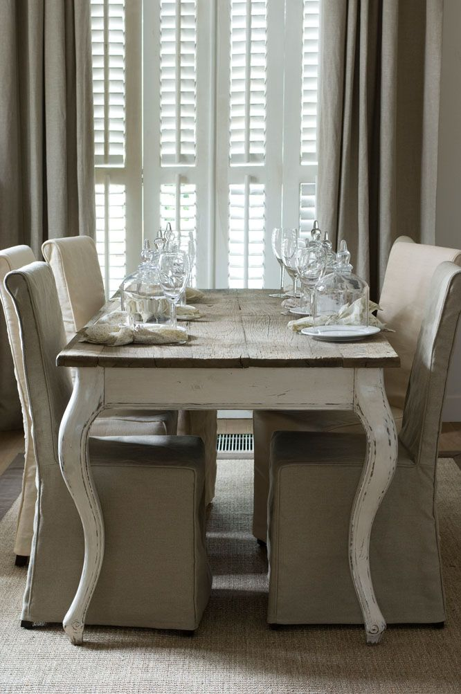 Riviera Maison Driftwood Dining Table French Country Dining Table Dining Table