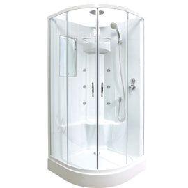 Cabine de douche hydromassante malibu 90 x 90 cm 325 00 douche pinterest for Cabine de douche castorama