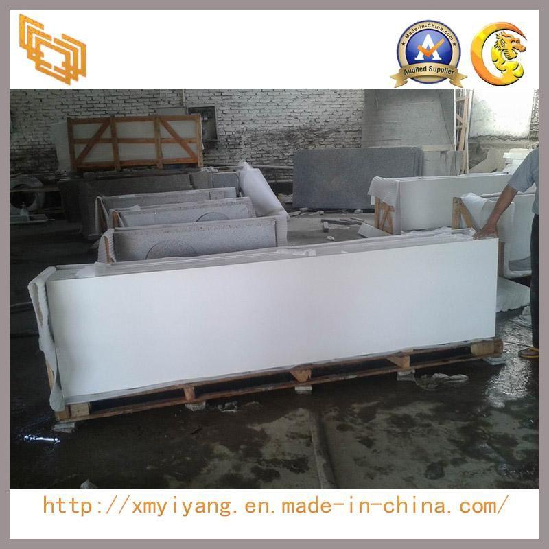 Engineered Stone White Quartz Vanity Top/Contertop (YYL)