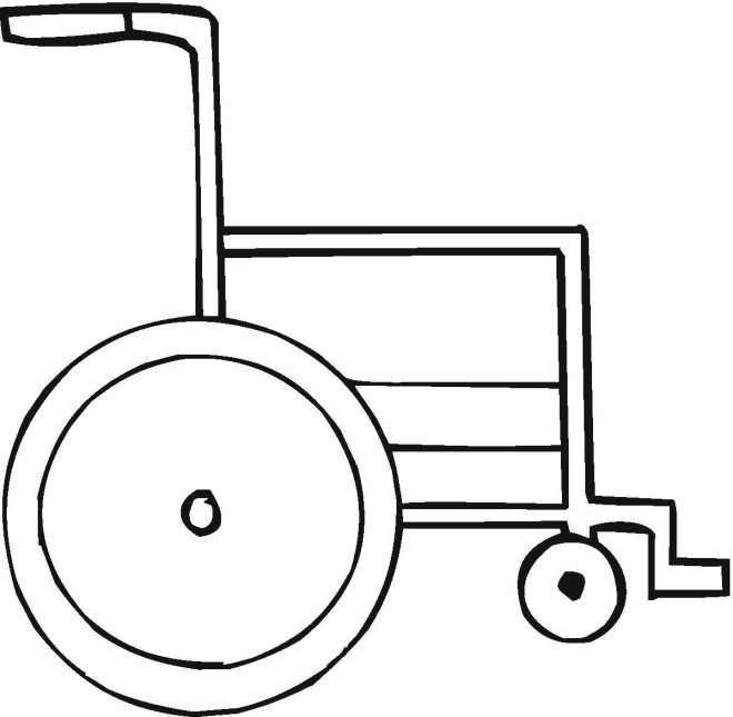 Medicine Coloring Pages | Wheelchair Coloring Page | VBS Ideals ...