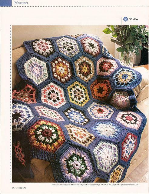PATRONES GRATIS DE CROCHET: Funda para el sofá | crochet | Pinterest ...