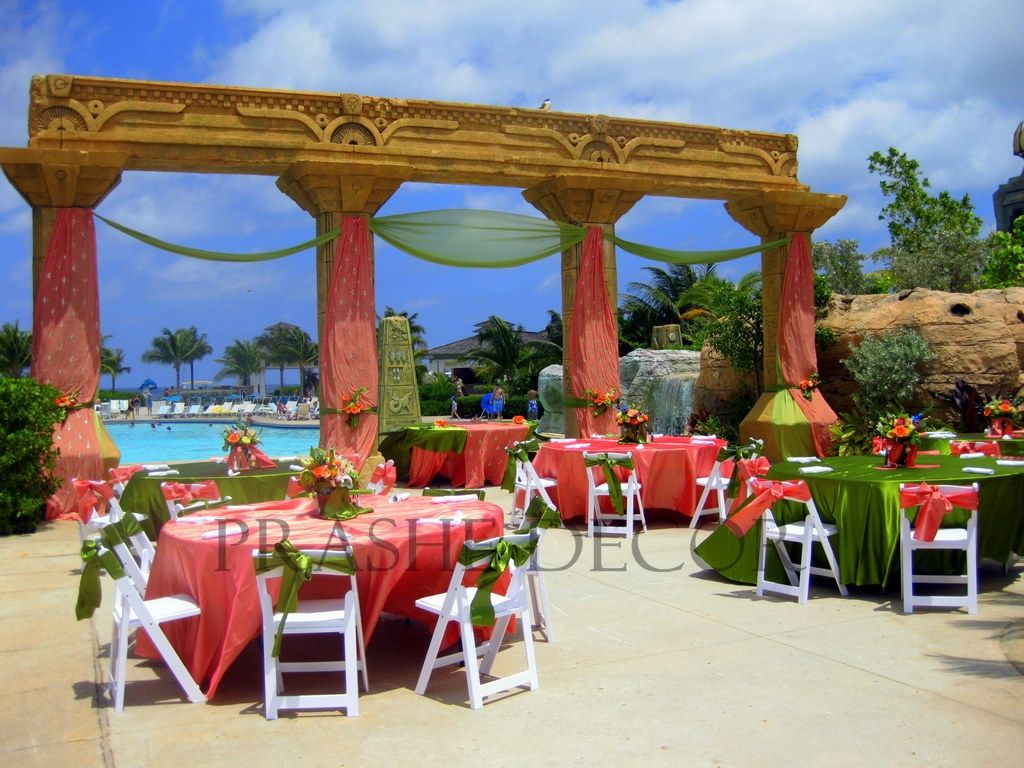 Destination Indian Wedding Nau Bahamas Atlantis Hotel All Inclusive Vacation Packages