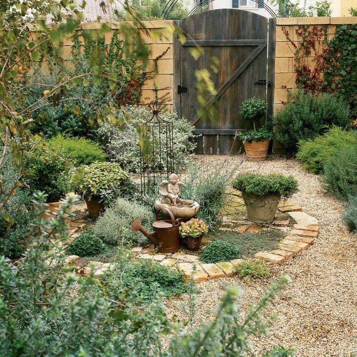b8b6ba8e058dd3bf68f598ac3ab9ef66 South West Brick Pea Gravel Garden Design on