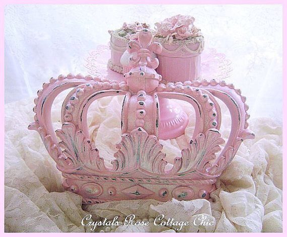 Shabby Pink Chic Distressed or Full Cover by sweetlilboutique