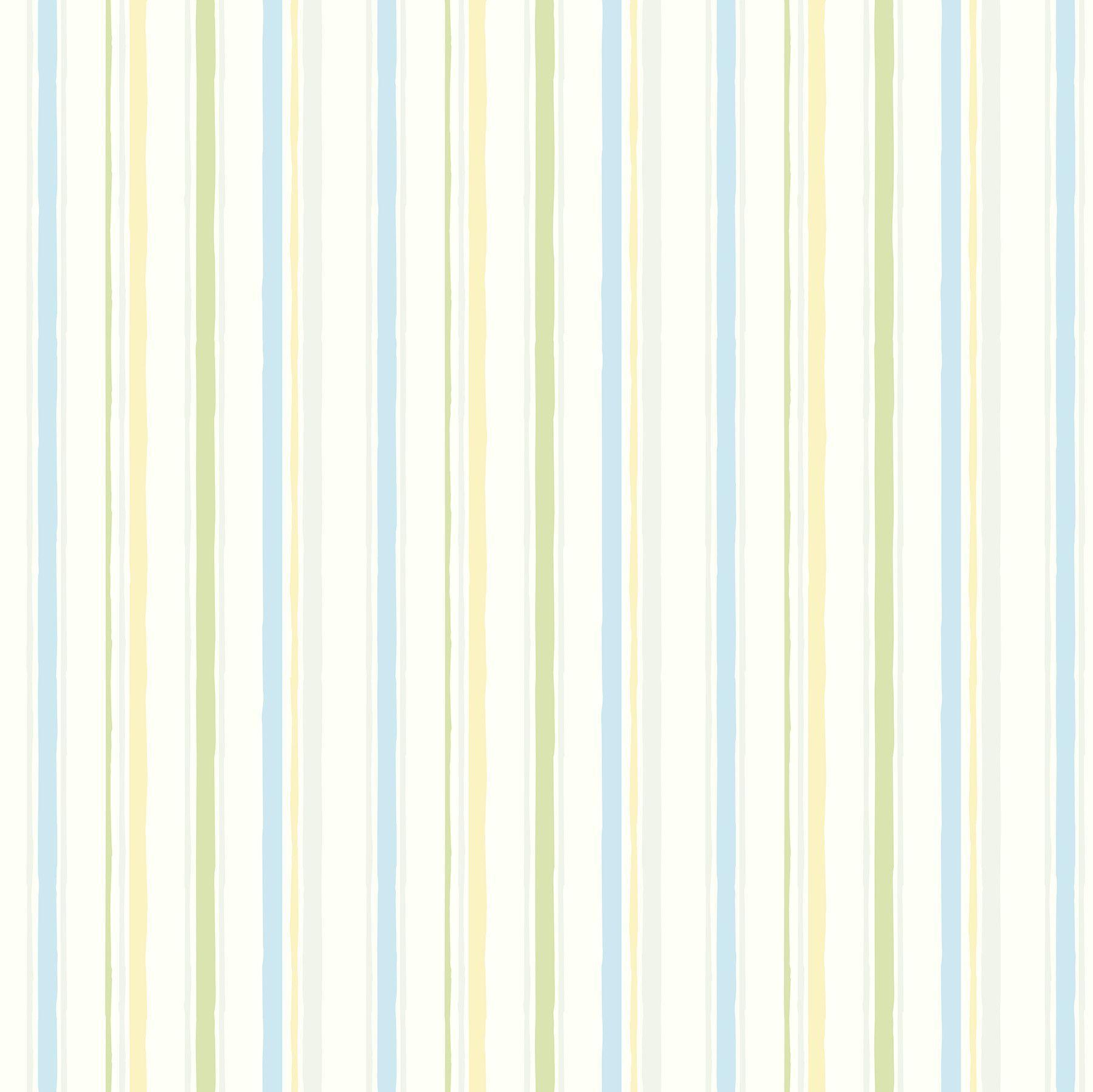 """Hide and Seek Macey Wiggle 33' x 20.5"""" Stripes 3D Embossed Wallpaper"""