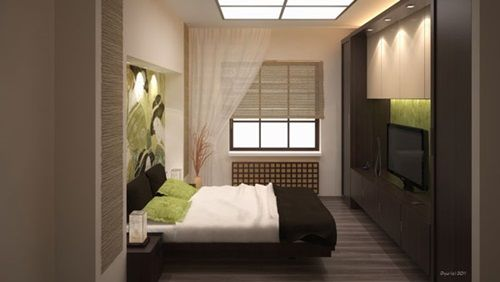 Bedroom Design, Japanese Style Bedroom Design With Art Wall: 46 Glamorous  Modern Comfortable Bedroom Interior Design Ideas