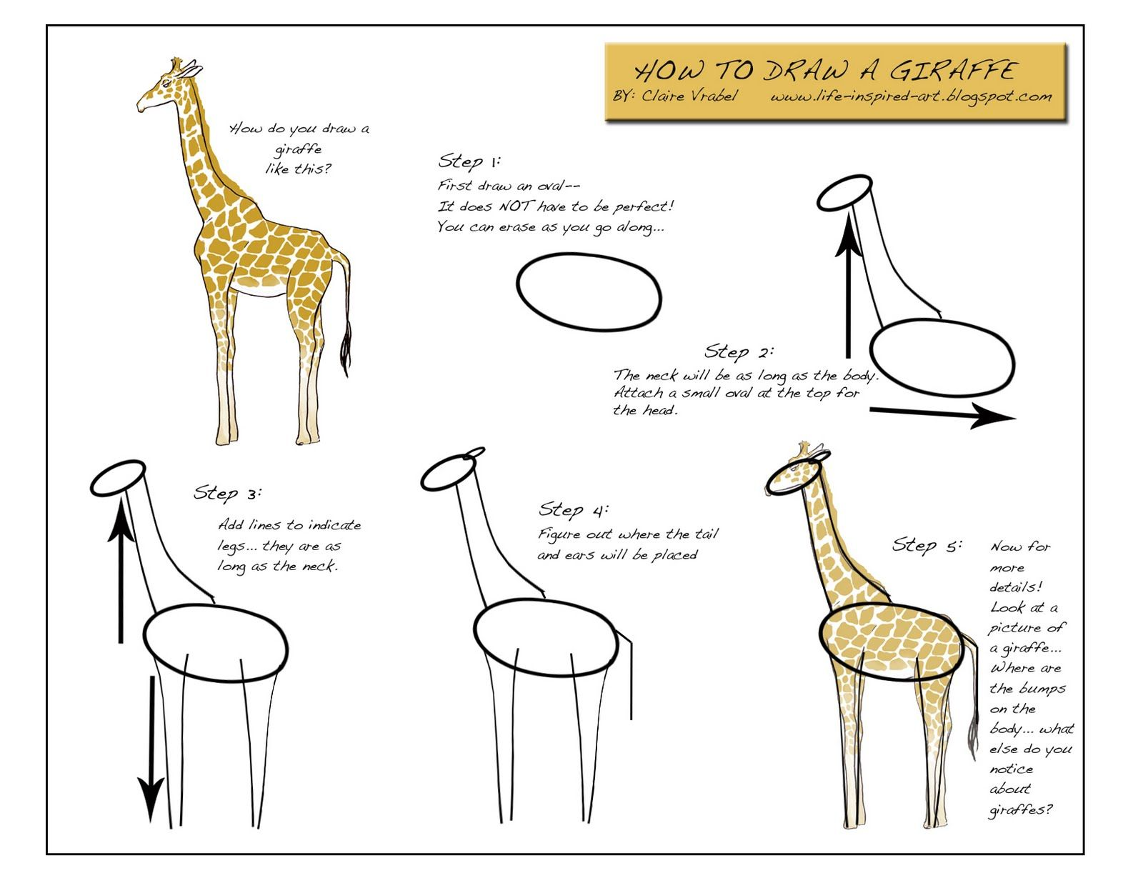 in this drawing lesson well show you how to draw a realistic giraffe in