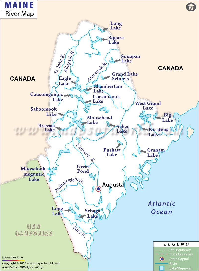 Rivers In Maine Usa Maps Pinterest Maine Saco River And Map