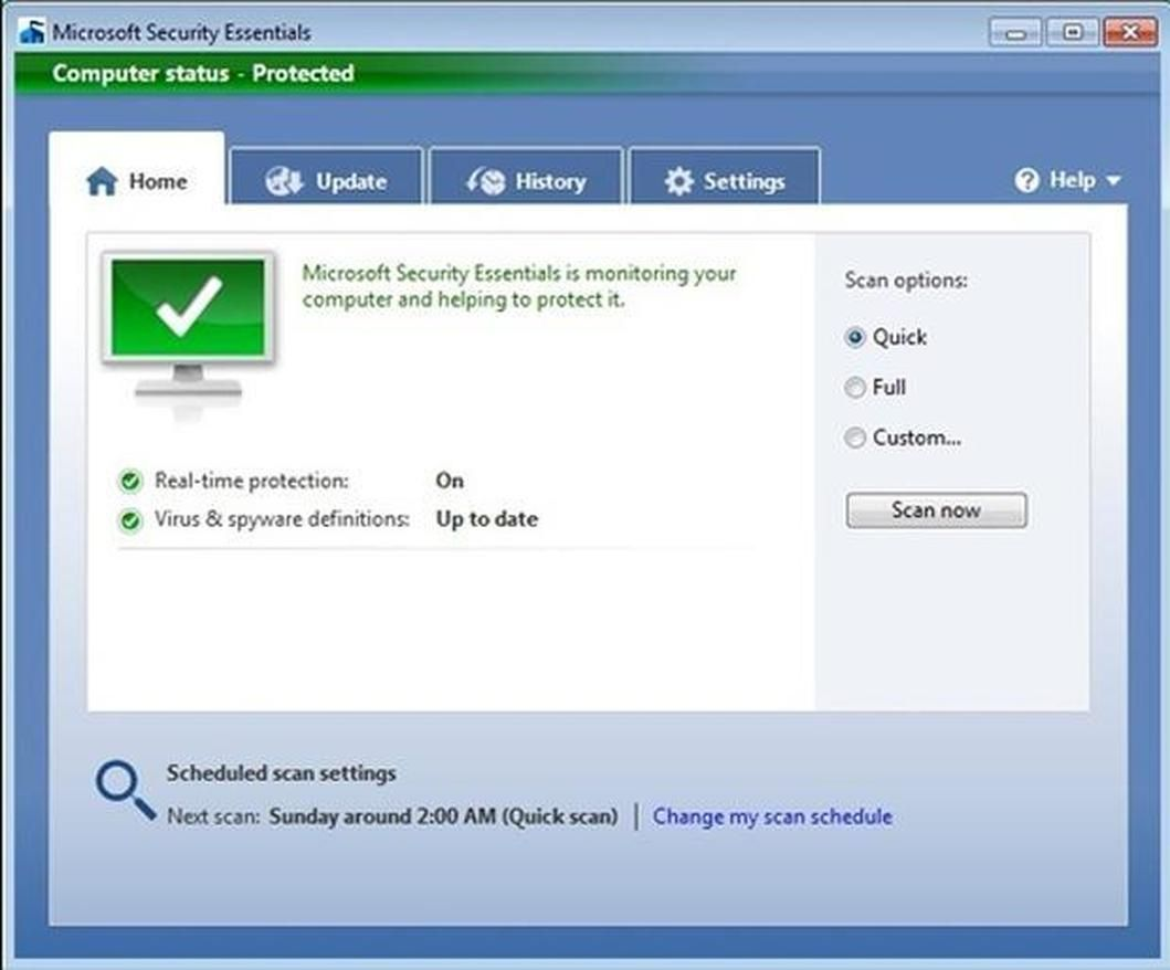 Windows 7 | TECHNOLOGY: MICROSOFT WINDOWS | Antivirus