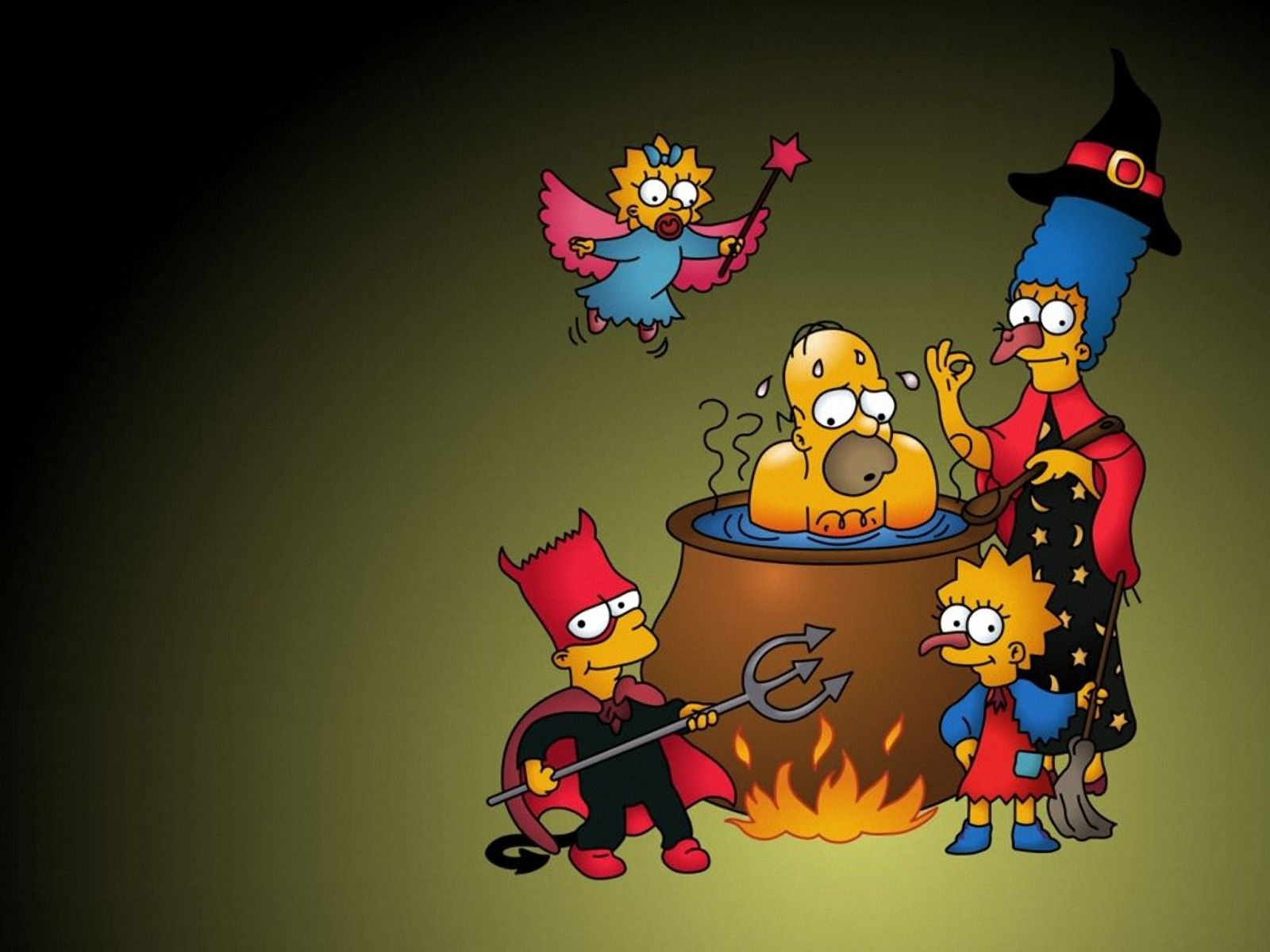 Hd Wallpapers The Simpsons The Simpsons Family Simpsons