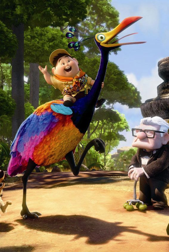 kevin from up costume - Google Search | Up pixar, Up ...