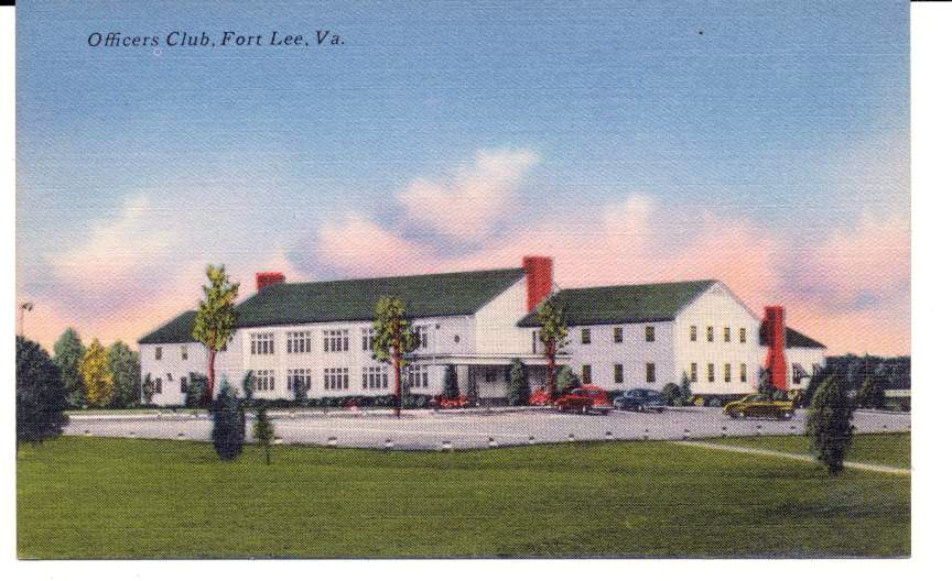 Fort Lee Virginia Army Base >> Officers Club Fort Lee Va Virginia Military Army Base