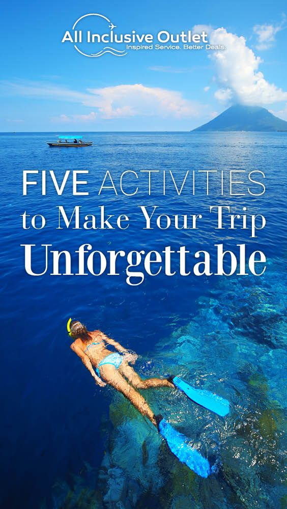 These top 5 activities are ones that everyone in your group will enjoy! #travel #activities #entertainment #vacation