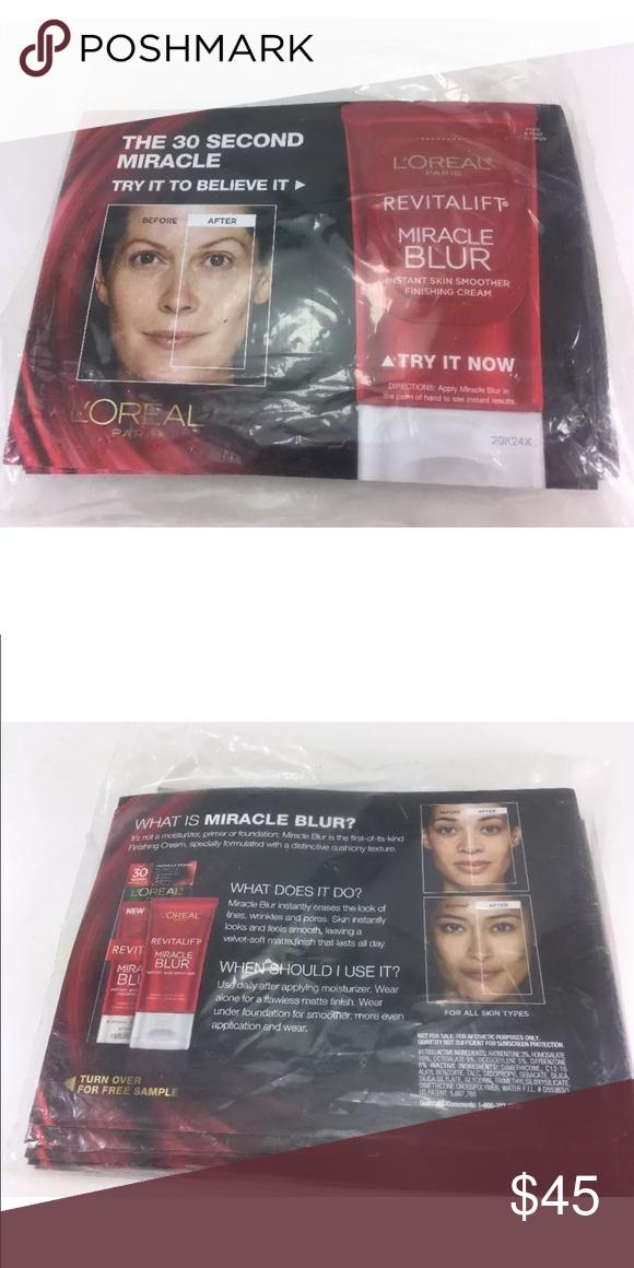 25 L'Oréal Paris Revitalift Miracle Blue Samples 25