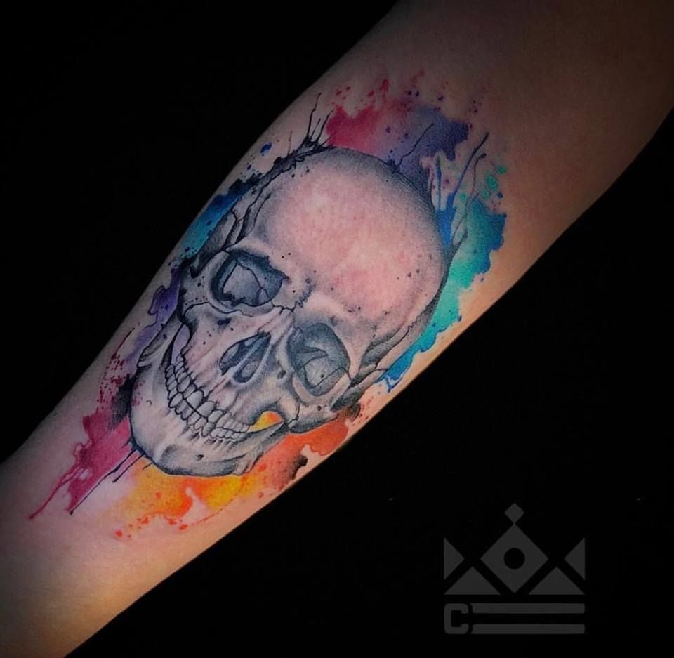 This Skull Tattoo By Chris Roberts Came Out Phenomenal Chris Is
