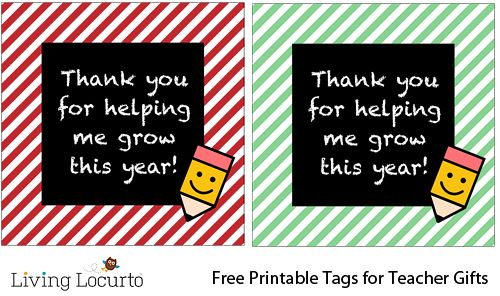 Free printable teacher thank you tags gift idea httpwww great teacher gifts sweet teacher gift free printable teacher thank you tags gift idea negle Gallery