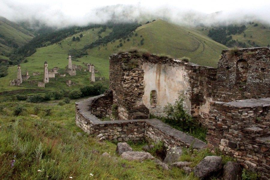 Ингушетия. Древние церкви в горах - призраки ушедшего ...