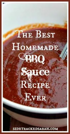 The Best Easy BBQ Sauce Recipe Ever #homemadesauce